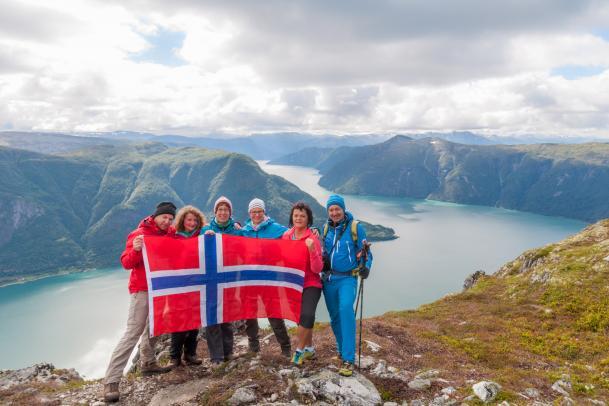 Norwegen - i hytta