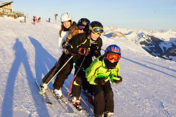 Silvester Familienskireise Kitzbüheler Alpen