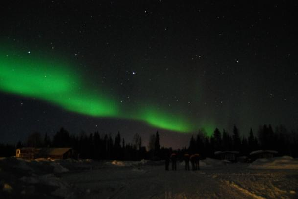 Lappland im Winter - The true story