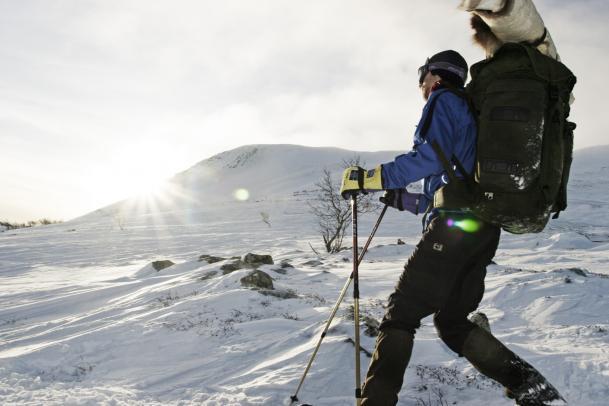 Schneeschuhtour Kungsleden