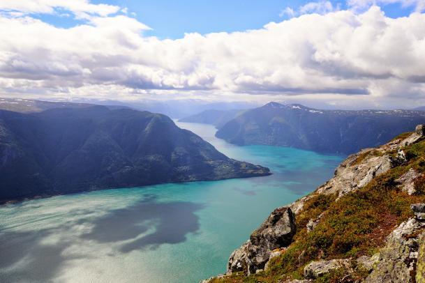 Fjordreise i aksjon