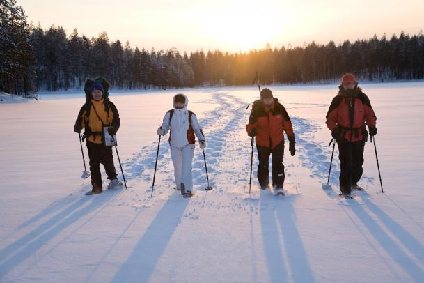 Off the trails - Schneeschuhtour in Ostfinnland