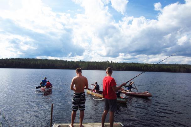 Jugend-Outdoorcamp