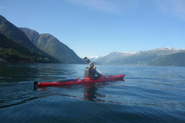Seekajaktour Hardangerfjord